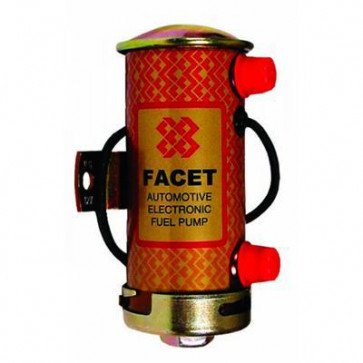 Facet 476087 Silver Top Cylindrical Fuel Pump (STS504)