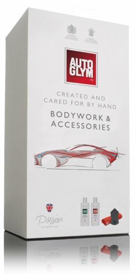Autoglym Bodywork & Accessories Kit The Collection Car Detailing Polish Shampoo