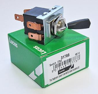 Lucas 3 Position Toggle Switch 31788 Motorcycle