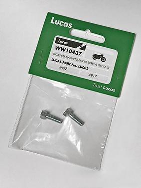 Lucas K2F Pick Up Screws (Set of 2) LU002 Magneto Motorcycle
