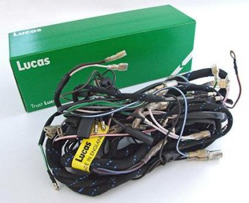 Lucas Main Wiring Harness BSA C15,B40 Side Points models 549496610 Motorcycle