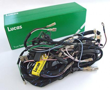 Lucas Main Wiring Harness Triumph T90,T100,T120 (1968) 54953443 Motorcycle