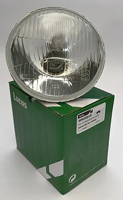 "Lucas 5-3/4"" Motorcycle Headlamp Headlight Beam Unit H4 RHD LUB223"