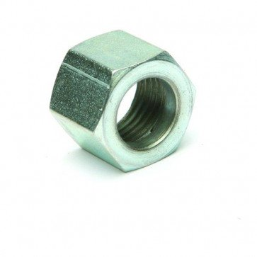 "Plated Nut 1/4"" BSP to suit Spigot 1/4"" ID Hose - For Petrol Fuel Pipe GS73022"