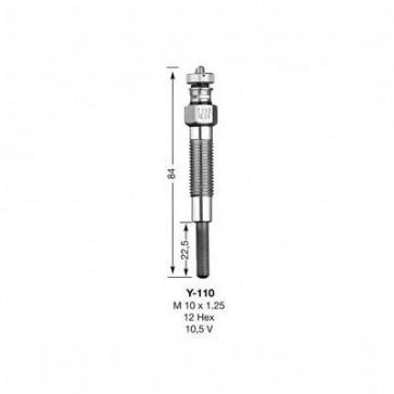 NGK Glow Plug Y-110 (6825)