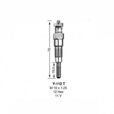 NGK Glow Plug Y-112T (6327)