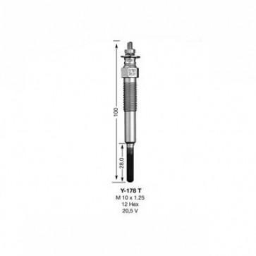 NGK Glow Plug Y-178T (3030)