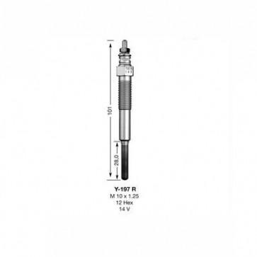 NGK Glow Plug Y-197R (2188)
