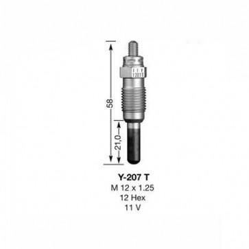 NGK Glow Plug Y-207T (1239)