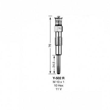 NGK Glow Plug Y-502R (3852)