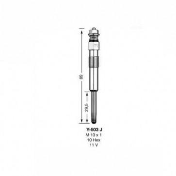 NGK Glow Plug Y-503J (5005)