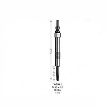 NGK Glow Plug Y-534J (5540)