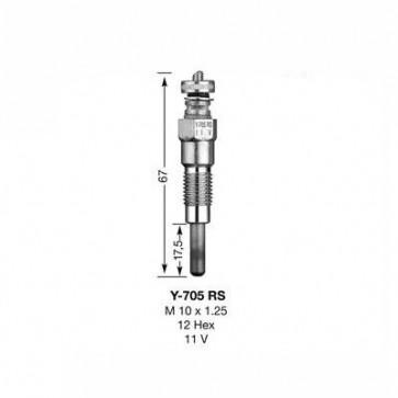 NGK Glow Plug Y-705RS (1249)