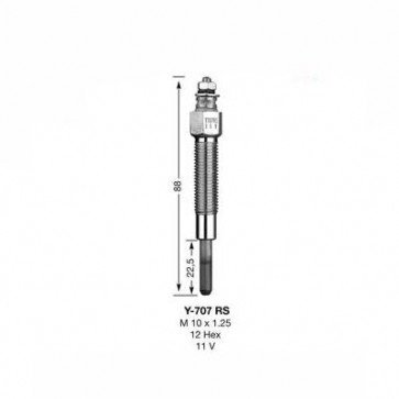 NGK Glow Plug Y-707RS (4937)