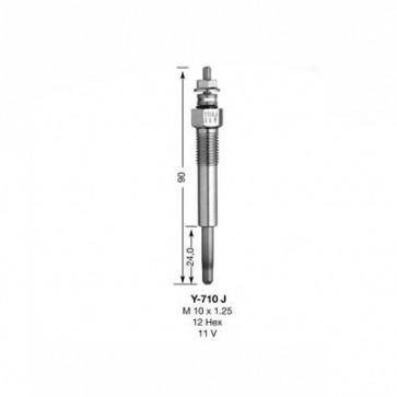NGK Glow Plug Y-710J (7880)