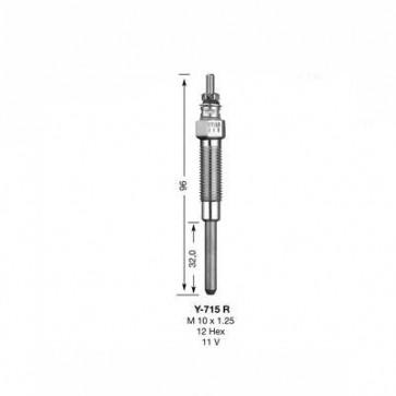 NGK Glow Plug Y-715R (5376)