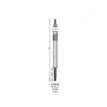 NGK Glow Plug Y-729U (2203)