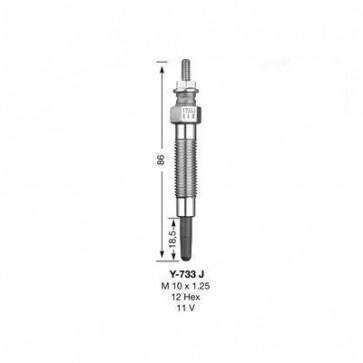 NGK Glow Plug Y-733J (8944)