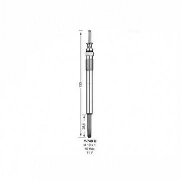 NGK Glow Plug Y-748U (5000)