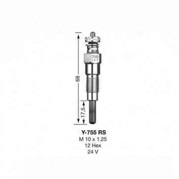 NGK Glow Plug Y-755RS (7771)