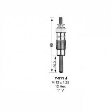 NGK Glow Plug Y-911J (7545)