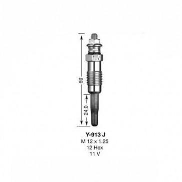 NGK Glow Plug Y-913J (5413)