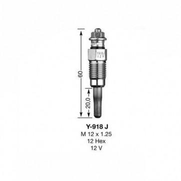 NGK Glow Plug Y-918J (3704)