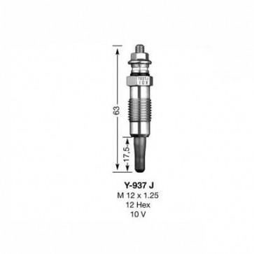NGK Glow Plug Y-937J (4118)