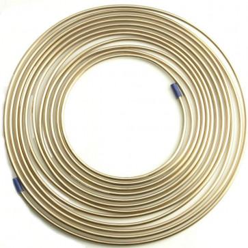 25ft x Malleable Cupro Copper Nickel Brake Petrol Car Pipe Tube Plumbing Gas