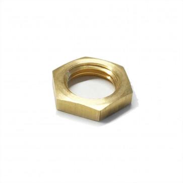 "Brass Lock Nut 1/4"" BSP - Petrol Fuel Pipe"
