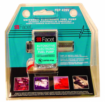 Facet Solid State Fuel Pump Clamshell Kit (FEP42SV)