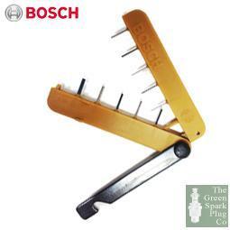 1x Bosch 11 Stick Feeler Gap Gauge Metric 0986600000 [3165141658958]