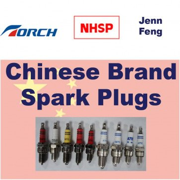 Chinese Brand Torch & NHSP LD Spark Plugs K5RF :- Replace With NGK BKR5E