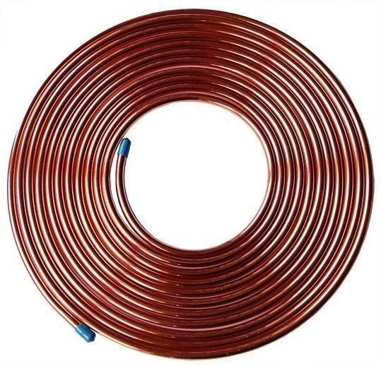 1M Fuel Malleable Copper Petrol Pipe Tube 5//16 OD x 0.256 ID Vintage Classic Car