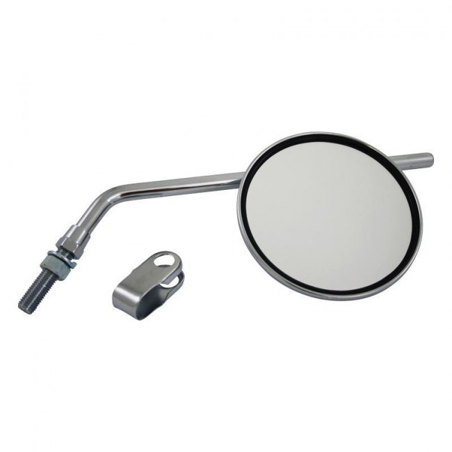 Left or Right Hand. clamp-on Mirror UNIVERSAL 7//8 Scooter GS32050