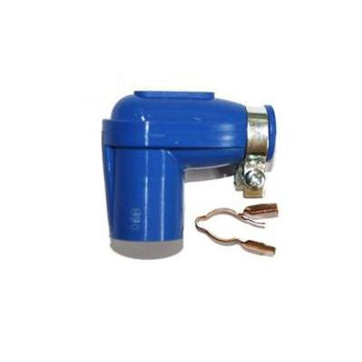 1x NGK None Resistor Spark Plug Cap LBER Blue 14mm Nut Terminal (8308)