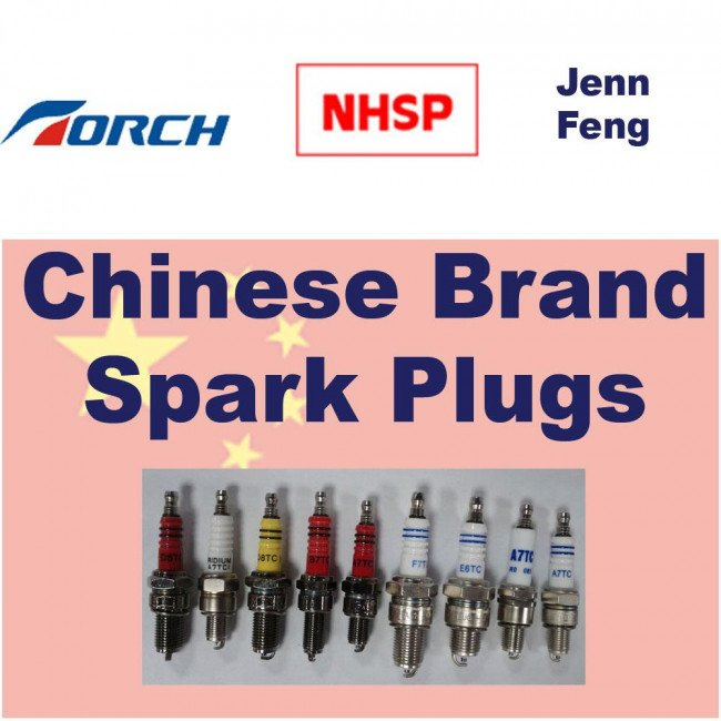 Chinese Brand Torch & NHSP LD Spark Plugs A7C :- Replace
