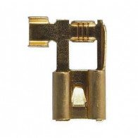 10x Durite - Terminal 8.0mm Flag Push-On with Lock Tag - 0-005-13