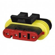 Durite - Superseal Connector 1.50mm Female 4 way Bg1 - 0-011-64