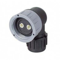 Durite - Connector 2 way M27 90° 10 NW Bg1 - 0-326-52