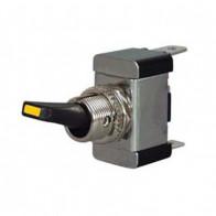 Durite - Switch Flick On/Off Plastic Dolly Amber LED 12/24 volt Bg1 - 0-364-10