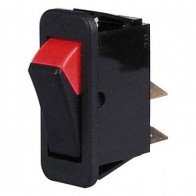 Durite - Switch Rocker On/Off Black/Red Cd1 - 0-532-01