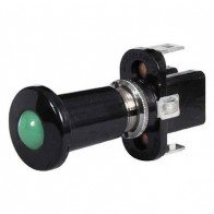 Durite - Switch Push/Pull Illuminated Green 12 volt Cd1 - 0-597-04
