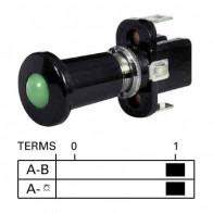 Durite - Switch Push/Pull Illuminated Red 12 volt Cd1 - 0-597-05