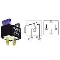 Durite - Relay Mini Make/Break Fused 20 amp 12 volt Cd1 - 0-726-12