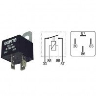Durite - Relay Mini Make/Break (A term) 30 amp 12 volt Cd1 - 0-727-62