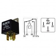 Durite - Relay Mini Change Over (A term) 20 amp 24 volt Cd1 - 0-728-74