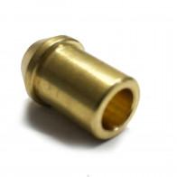 "Solder Nipple Copper Petrol Fuel Pipe 3/8"" OD x 3/8"" BSP"