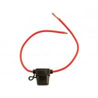 Splashproof Blade Fuse Holder-Red 30-amp Pk 10 | Connect 30457