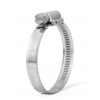 20-32mm 304 Stainless Steel Clip Fuel Air Water Worm Hose Clamp 10 Pack